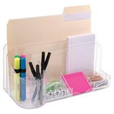Innovative Storage Designs Desktop Organizer 9 Compartments Clear