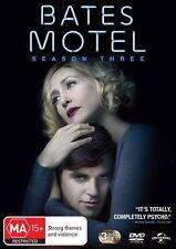 Bates Motel : Season 3 (DVD, 3-Disc Set) NEW