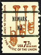 POSTAGE STAMP USA 1976 SAXHORNS MUSICAL INSTRUMENTS ART PRINT POSTER BMP1130A