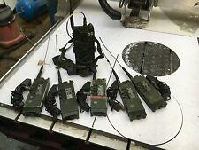 Platoon & Squad Radio Comms setup Clansman Military PRC350 & PRC349 x 5 Set. GWO
