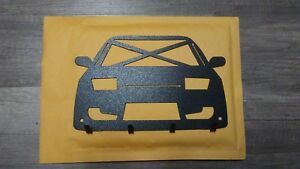 """Nissan 240SX S13 (1989-1993) 4-Key Holder 8.30"""" by 5.30"""""""