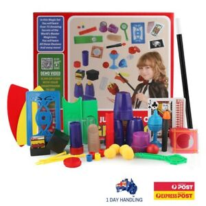 Ultimate Magic Set with 75+ Easy-To-Learn Magic Tricks for Kids and Beginners