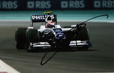 Kazuki Nakajima mano firmado AT&T Williams F1 Foto 7x5 10.