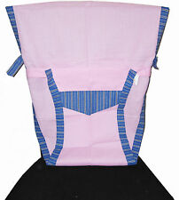New Portable Baby Chair/High Chair Harness, Pink1