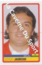 N°043 SERGIO JAUREGUI # BOLIVIA STICKER PANINI COPA AMERICA VENEZUELA 2007