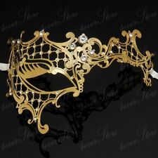 Phantom Filigree Metal Laser Cut Venetian Masquerade Mask for Women M7131
