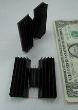 Lot 2 Large Heat Sync Heatsinks H Shaped Anodized Aluminum Alloy Ats 1216 New