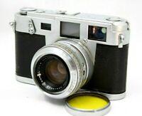 Vintage Aires 35 IIIc Rangefinder Film Camera w/1:1.9 Lens *For Repair* #A028b