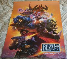 Blizzcon 2018 Exclusive Key Art Signed Poster