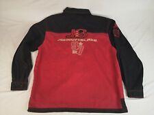 Rare Vintage Johnny Blaze 97 Method Man WUTANG Clan Spellout Button Up Shirt XL