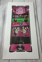 Disney WonderGround Gallery Haunted Mansion Ghastly Haunts Print by Mcbiff NEW