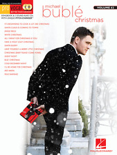 MICHAEL BUBLE-CHRISTMAS PRO VOCAL VOL.62 MUSIC BOOK & 2 CDs-NEW ON SALE SONGBOOK