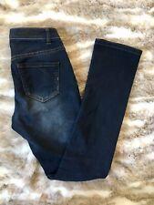 Liverpool Womens Jeans Sadie Straight Leg Dark Wash Stretch Size 0