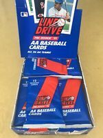 (10)Packs!! 1991 LINE DRIVE PRE-ROOKIE MINOR LEAGUE AA -IVAN RODRIGUEZ -SEALED!!