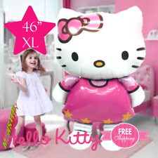 XL HUGE!! Hello Kitty Birthday Balloon balloons party decoration supplies favor