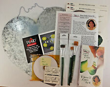 Donna Dewberry One Stroke Home Study Course Kit DVD Brushes Lesson 3 & 4 Heart