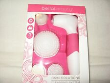 """Brand New"" Skin Solutions Face Brush Cleaning System by Bellabeauty"