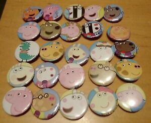 Peppa Pig Button Badges