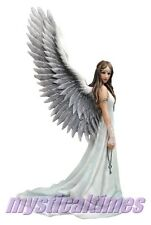 NEW * SPIRIT GUIDE * ANGEL ANNE STOKES  FIGURINE STATUE ** FIRST CLASS POST