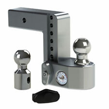"""Weigh Safe 6"""" Drop Hitch Ball Mount w/2.5"""" Shaft & Weight Scale WS6-2.5"""