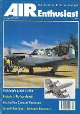 Air Enthusiast 70 Royal Australian Navy Albatross DC-3 Argentine T-34C-1 Turbo