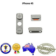 for iPhone 4 / 4S - Key Set - Power / Sleep / Lock Mute, Power & Volume Buttons