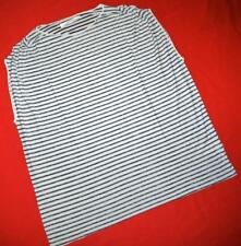 "All Saints ""Oran Top"" Striped Oversize T-Shirt Top Size UK 6 US 2 - Grey Black**"