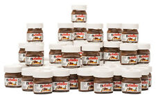 NUTELLA MINI 25g x 16 Pk Glass Jar Ferrero Hazelnut Chocolate Cocoa Cute Limited