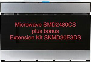 Sharp Drawer Microwave Oven SMD2480CS Plus Bonus Extension Kit SKMD30E3DS