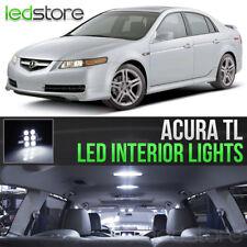 2004-2008 Acura TL White Interior LED Lights Kit Package
