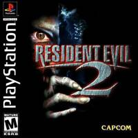Resident Evil 2 - PS1 PS2 Playstation Game Only