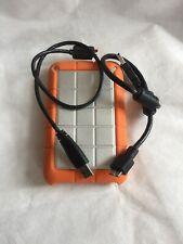 LaCie Rugged Triple 500GB FireWire 800 + USB 3.0 Portable External Hard Drive