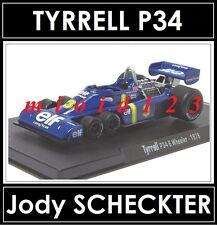 RBA FORMULA1 - TYRREL P34 6 wheels : Jody SCHECKTER - 1976 - Die-cast - 1/43
