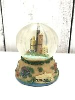Rare Vintage Navy Pier CHICAGO Musical Snow Globe Dome Collectible used conditio