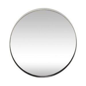 Round Iron Wall Hanging Mirror by Hubsch
