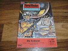 PERRY RHODAN  # 294 -- die EROBERER, GUCKY begegnet FAKTOR 3 // 1. Auflage 1967