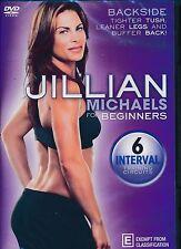 Jillian Michaels Backside For Beginners DVD NEW