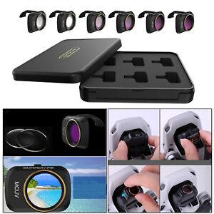 Set of 6 Lens Filter MCUV CPL ND Protector for DJI Mavic Mini/ Mini 2 Camera