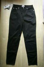 NEW D&G Dolce & Gabbana Ladies BLACK Jeans W28 L31 Regular Straight Made ITALY