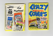 (1) 1974 Fleer Crazy All New Series Magazine Covers Unopened Sealed Pack NM