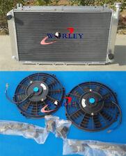 3ROW radiateur en aluminium + ventilateurs pour NISSAN GQ PATROL Y60 4.2 L Essence TB42S TB42E MT
