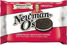 Newman's Own Newman-O's, Crème Filled Chocolate Cookies, 13-Ounce Packages...