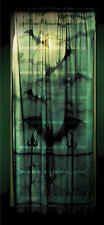 Lace Decor Window Panel 40 X 84 Inches Halloween Decorations Seasonal Visions