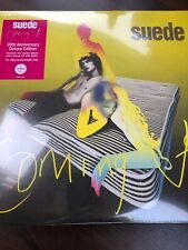 "SUEDE ""COMING UP"" 20th ANNIVERSARY DELUXE EDITION"" 2 x 180gm VINYL LP BRAND NEW"