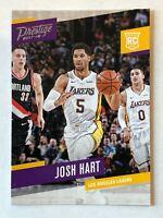 Josh Hart rookie card 2017-18 Panini Prestige #179 Los Angeles Lakers