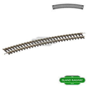 Hornby R8261 Fourth Radius Single Curve Track Pieces Single OO Gauge 1:76 Scale