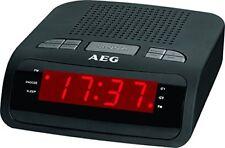 Radio réveil noirs alarme pour la maison