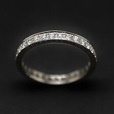 "Alliance or gris MAUBOUSSIN ""Dream and love"" 31 Diamants, 1 ct , F/VVS.Taille 53"