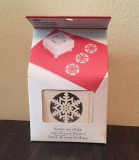 Discontinued Martha Stewart Crafts Punch All Over The Page Nordic Snowflake Card