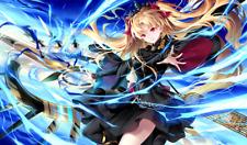 522 Fate/Grand Order Ereshkigal CUSTOM PLAYMAT ANIME PLAYMAT FREE SHIPPING